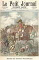 Revolt of the Last of the Redskins from Le Petit Journal 13th December 1890 - Fortune Louis Meaulle