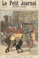 The Conscripts of 1892 from Le Petit Journal 5th March 1892 - Fortune Louis Meaulle