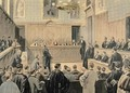 The Panama Trial from Le Petit Journal - Fortune Louis Meaulle