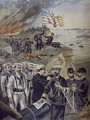 Spanish American war landing at Guantanamo Cuba - Fortune Louis Meaulle