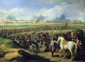 Louis XIV 1638-1715 at the Siege of Tournai 21st June 1667 - Adam Frans van der Meulen