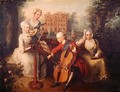 Frederick Prince of Wales and his Sisters 1733 - Philipe Mercier