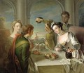 The Sense of Taste 1744-47 - Philipe Mercier