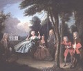 Viscount Tyrconnel with his family 1725-6 - Philipe Mercier