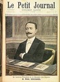 The New President of the Chamber of Deputies Paul Deschanel 1855-1922 from Le Petit Journal 26th June 1898 - Henri Meyer