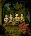 Portrait of the daughters of Sir Matthew Decker Bt 1718 - Jan Van Meyer