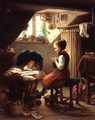 Tending the Little Ones - Johann Georg Meyer von Bremen