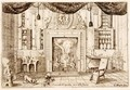 Interior Drawing room from Cornelio Meyer Nuovi Ritrovamenti 1696 - Cornelis Jansz Meyer