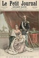 The Silver Wedding Anniversary of the King of Greece from Le Petit Journal 29th October 1892 - Henri Meyer