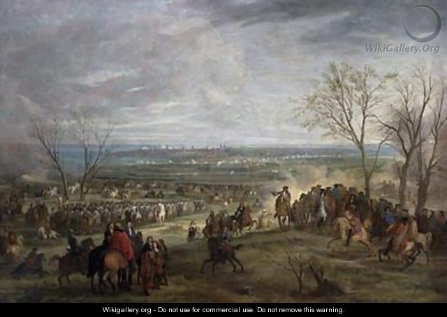 The Siege of Valenciennes 1677 - Adam Frans van der Meulen