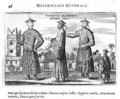 Chinese Men a General Description from an account of a Dutch Embassy to China 1665 - Jacob van Meurs