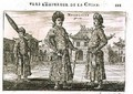 Mongolians from an account of a Dutch Embassy to China 1665 - Jacob van Meurs