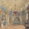 A room in the Winter Palace, St. Petersburg - Grigori Grigorevich Chernetsov