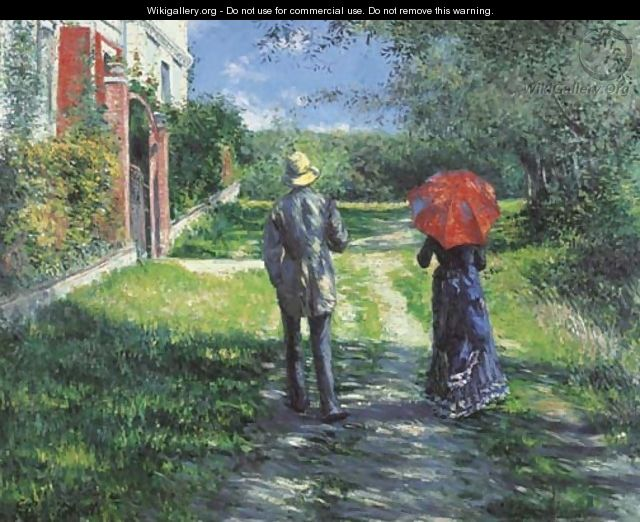 Chemin montant - Gustave Caillebotte