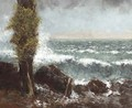 Marine, le peuplier - Gustave Courbet