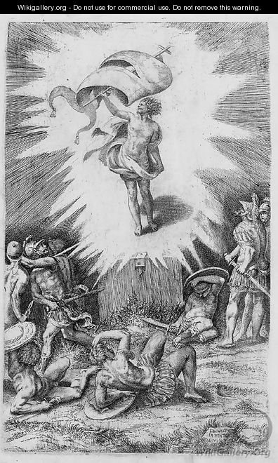 The Resurrection - Giulio Bonasone