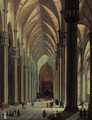 The nave of the Duomo, Milan, looking east - Giuseppe Bernardino Bison