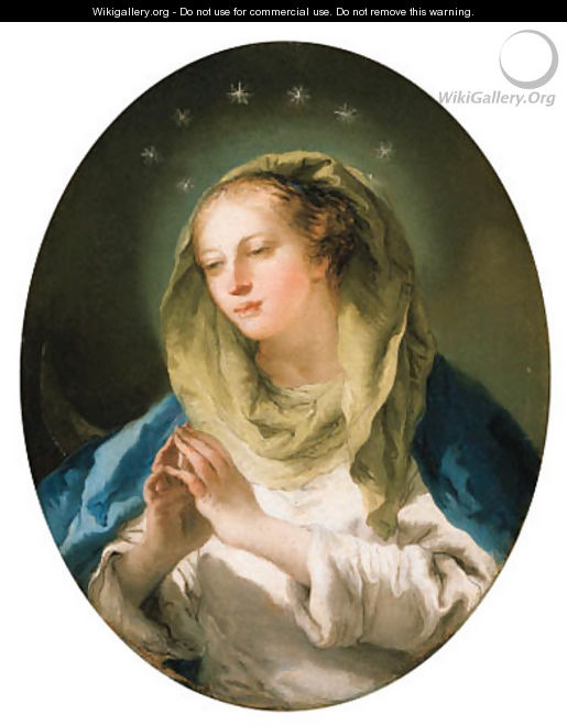 The Madonna - Giovanni Domenico Tiepolo