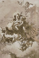 Saint Anthony and the Christ Child with angels and putti - Giovanni Domenico Tiepolo