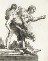 Hercules and Antaeus 4 - Giovanni Domenico Tiepolo