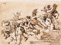Angels in Flight - Giovanni Domenico Tiepolo