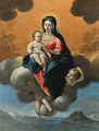 The Madonna and Child - Giovanni Lanfranco