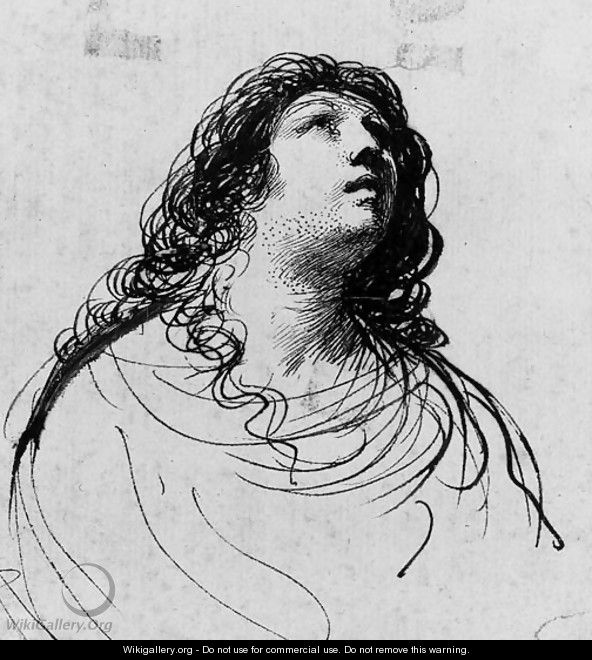 The Penitent Magdalen 2 - Giovanni Francesco Guercino (BARBIERI)