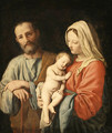 The Holy Family - Giovanni Battista Salvi, Il Sassoferrato