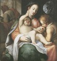 The Holy Family with the Infant Saint John the Baptist - Giovanni Battista Paggi
