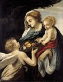 The Madonna and Child with an Angel - Giovanni Battista Vanni