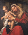 The Madonna and Child - Giacomo Cavedone