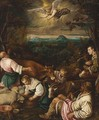 The Annunciation to the Shepherds - Giambattista Da Ponte (Giambattista Bassano)