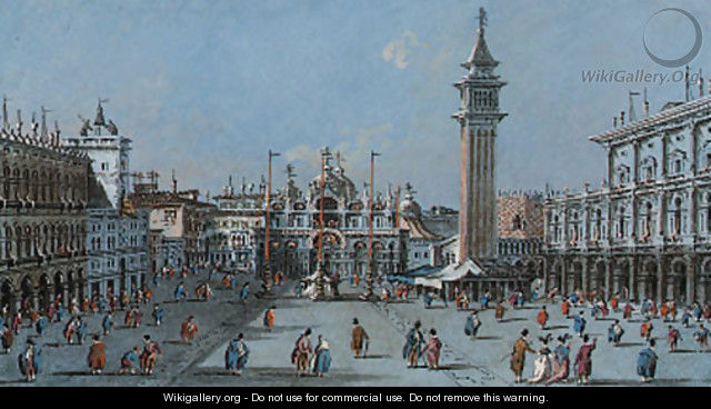 The Piazza San Marco, Venice 2 - Giacomo Guardi
