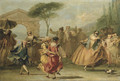 Dancing the Minuet - Giovanni Domenico Tiepolo