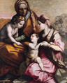 The Madonna and Child, Saint Elisabeth and the Infant Saint John the Baptist - Giorgio Vasari