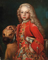 Portrait of a young man, said to be Prince Friedrich Hermann Otto von Hohenzollern-Hechingen - German School