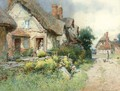 The village street - George Whyatt