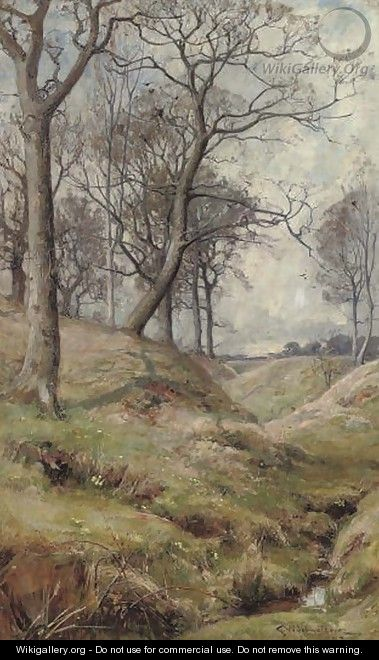 Early spring - George Whitton Johnstone