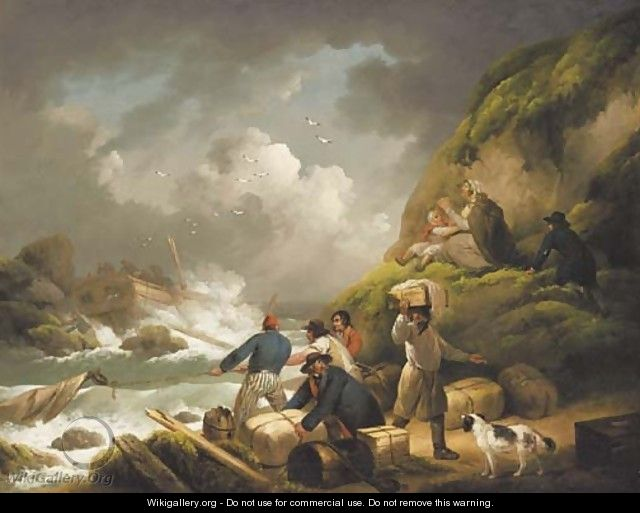 The Shipwreck - George Morland