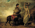 A young family travelling in the countryside - George Morland