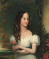 Portrait of Merelina Tindal - Henry William Pickersgill