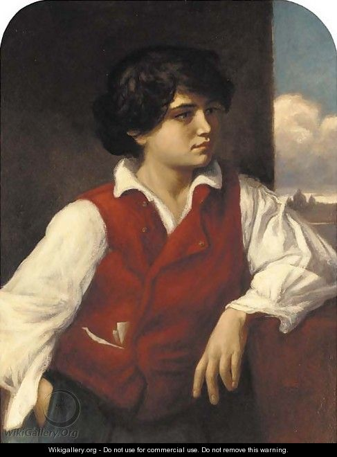 A young Italian boy - Herbert Louther Wilson