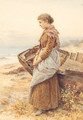 Waiting by the Shore - Henry James Johnstone