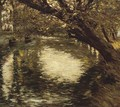 The Trout Stream, Provence - Henry Herbert La Thangue