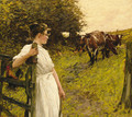 Back from the Common, Heyshott, West Sussex - Henry Herbert La Thangue