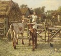 A Sussex farm 2 - Henry Herbert La Thangue