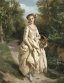 An Afternoon Stroll - Henri Guillaume Schlesinger