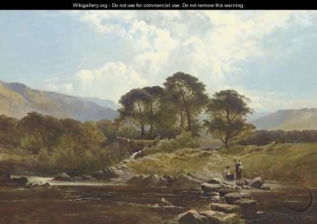 The Way to the Mill, North Wales - Henry John Boddington