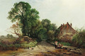 An English lane - Henry John Boddington