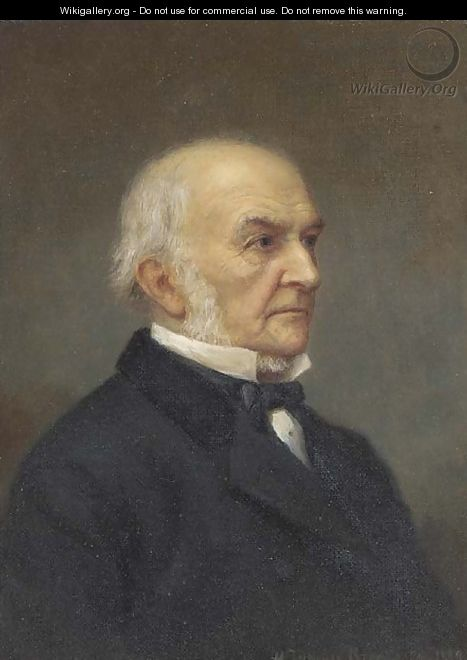 Portrait of the Right Hon. William Ewart Gladstone (1809-1898) - Henry Jermyn Brooks